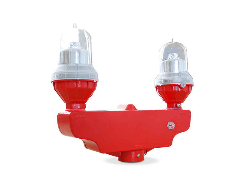 Dual Low Intensity aviation obstruction light