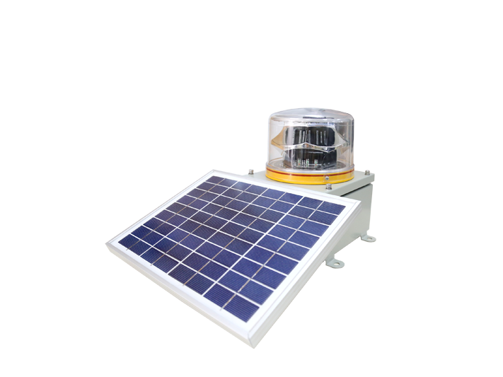 Medium Intensity Solar Aviation Obstruction Light