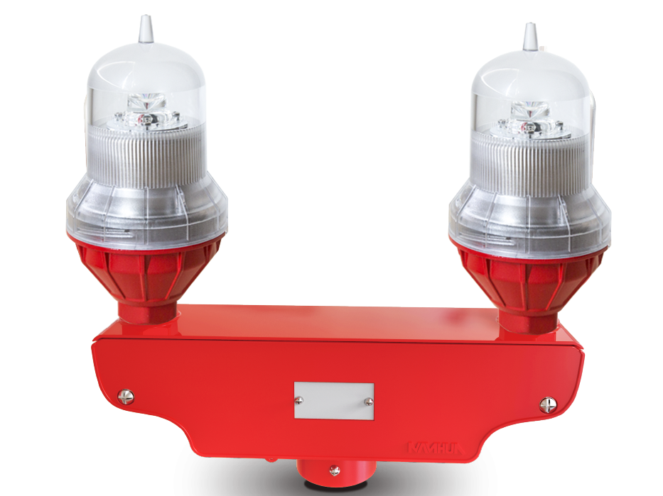 Dual Low Intensity Obstruction Light